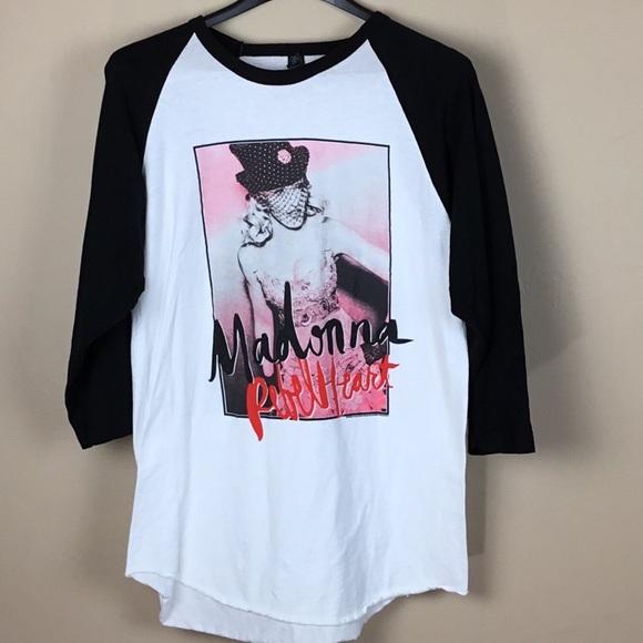 c109452c4 Madonna Rebel Heart Tour Graphic Tee SZ Large. M_5b1731f8c6177783e4c16bc5